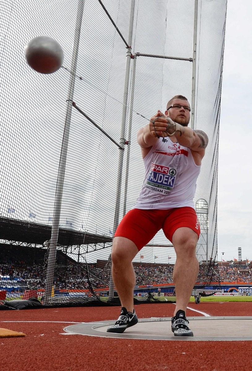 Paweł Fajdek to nasza medalowa nadzieja /AFP