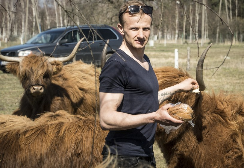 """Paweł """"Farmer"""" Bodzianny /TVP /Agencja FORUM"""