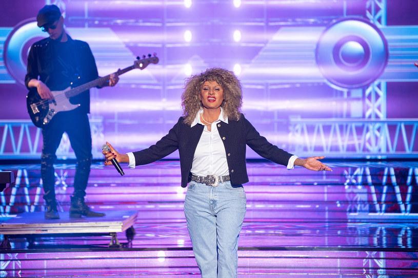 Paweł Góral jako Tina Turner /Polsat