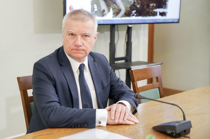 Paweł Graś przed komisją śledczą /Grzegorz Banaszak /Reporter