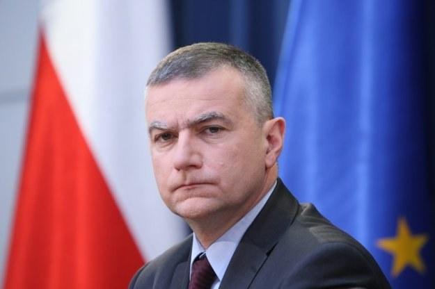 Paweł Graś, rzecznik rządu, fot. Stanisław Kowalczuk_SE_duze /Agencja SE/East News