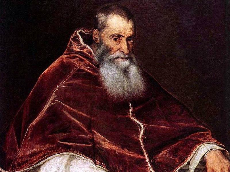 Paweł III zasłynął nie tylko wsparciem udzielanym astro logom. Był też wielkim przyjacielem ludzi nauki i sztuki, m.in.Michała Anioła. Nieobce mu były ludzkie słabości: miał co najmniej piątkę dzieci /Wikimedia Commons /domena publiczna
