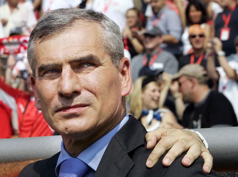 Paweł Janas podczas mundialu w Niemczech /AFP