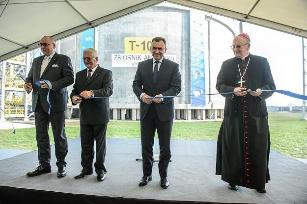 Paweł Jarczewski (L), Marian Rybak (2L), Włodzimierz Karpiński, metropolita Stanisław BudzIK /PAP