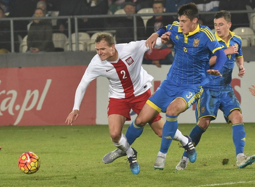 Paweł Jaroszyński był najjaśniejszym punktem naszej kadry /Jacek Bednarczyk /PAP