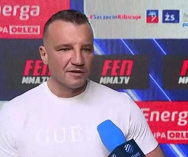 Paweł Jóźwiak zapowiada galę FEN 36 i wielki transfer do organizacji. WIDEO (Polsat Sport)