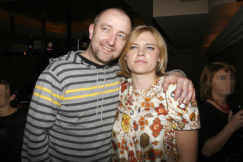 Paweł Jóźwicki i Ania Dąbrowska, 2007 rok /Jarosław Wojtalewicz /AKPA