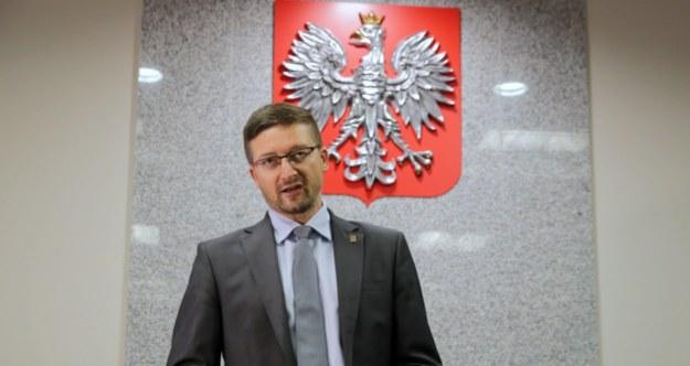 Paweł Juszczyszyn wydał oświadczenie / Tomasz Waszczuk    /PAP