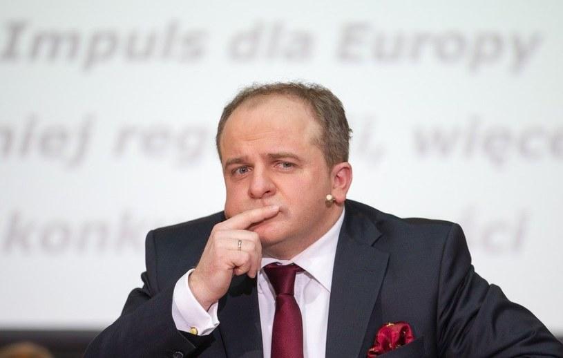 Paweł Kowal wrzuca do dyskusji ważny temat: należy pogodzić się z istnieniem oligarchii na Ukrainie /Andrzej Iwańczuk /Reporter