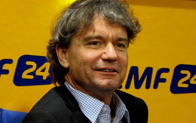 Paweł Kowalski, pianista /Kamil Młodawski /RMF FM