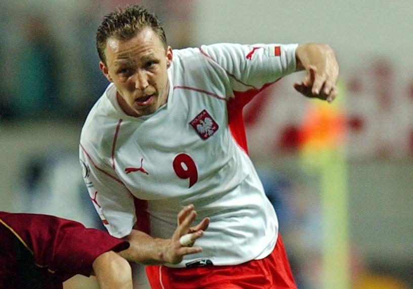 Paweł Kryszałowicz podczas meczu z Portugalią na mundialu 2002 /AFP