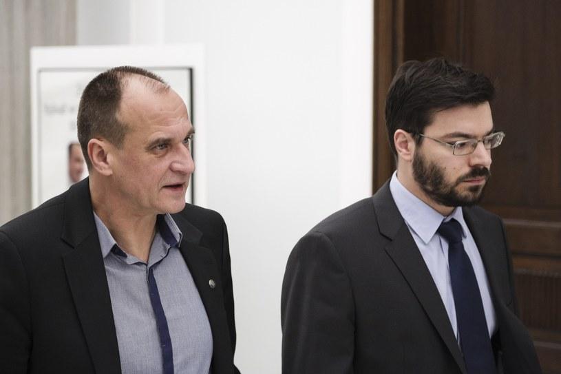 Paweł Kukiz i Stanisław Tyszka /Andrzej Hulimka  /Reporter