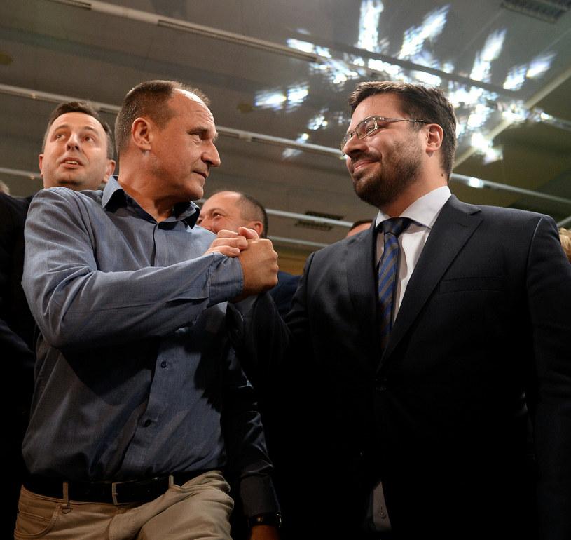 Paweł Kukiz i Stanisław Tyszka /Mateusz Jagielski /East News