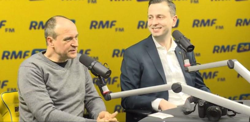 Paweł Kukiz i Władysław Kosiniak-Kamysz /RMF FM