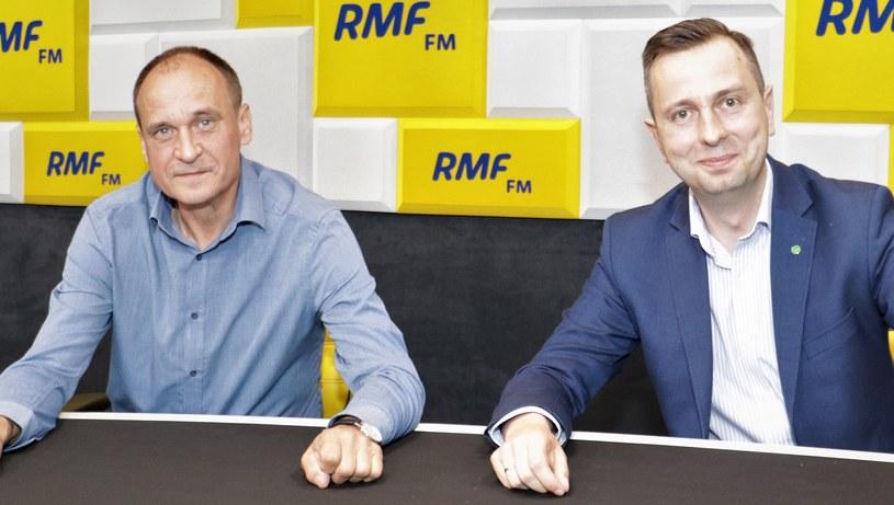 Paweł Kukiz i Władysław Kosiniak-Kamysz /Jakub Rutka /RMF FM