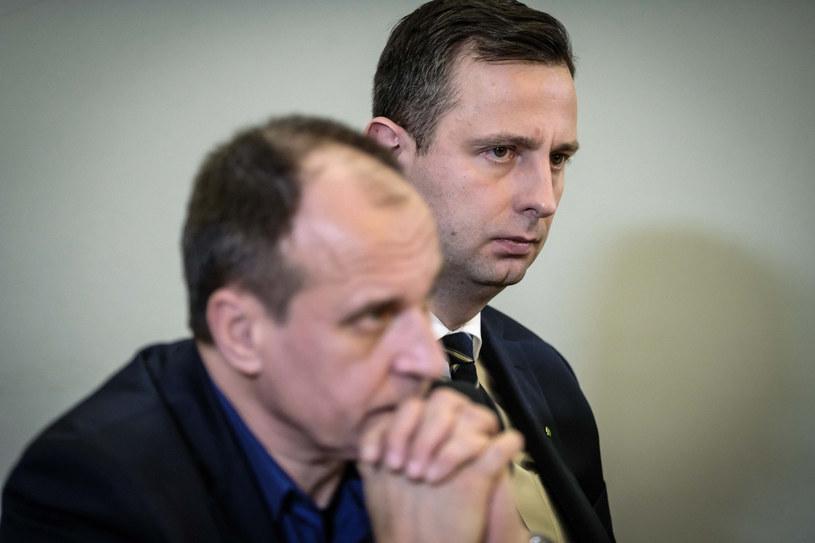 Paweł Kukiz i Władysław Kosiniak-Kamysz / fot Jacek Dominski /Reporter