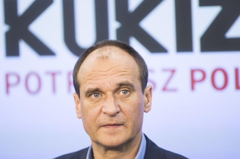 Paweł Kukiz, lider ruchu Kukiz'15 /Maciej Łuczniewski/Reporter /East News