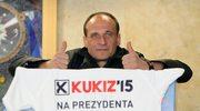 Paweł Kukiz - orędownik jednomandatowych okręgów wyborczych kandydatem na prezydenta