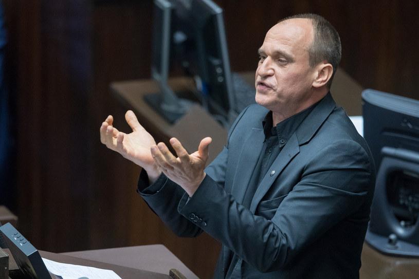 Paweł Kukiz: Panie ministrze Mariuszu Błaszczak, błagam pana, niechże pan zwolni ministra Zielińskiego /fot. Andrzej Iwanczuk /Reporter