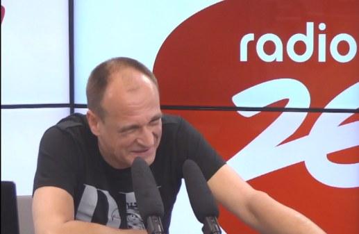 Paweł Kukiz skręcał się ze śmiechu /Radio Zet /