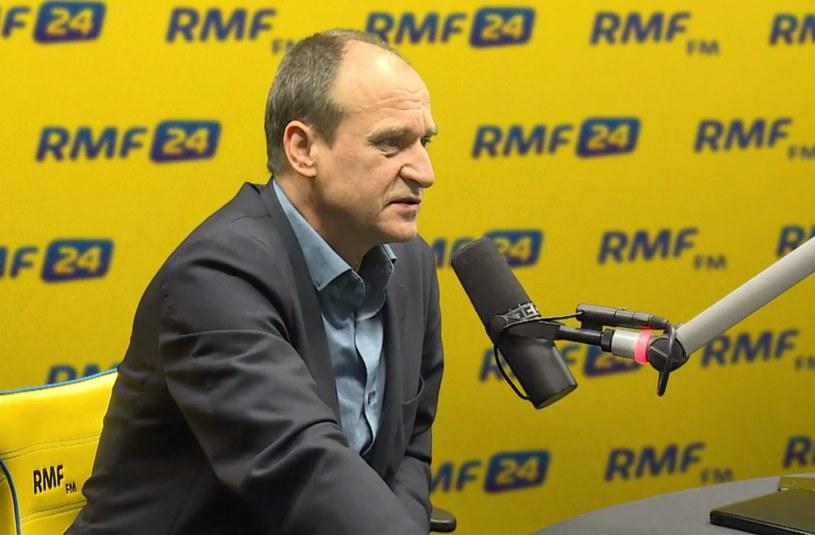 Paweł Kukiz w RMF FM /RMF