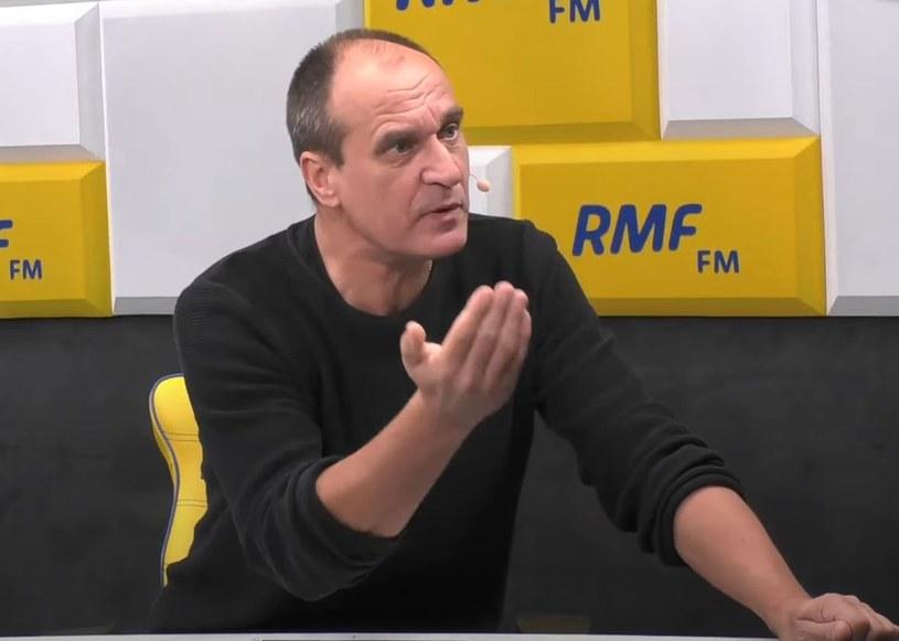 Paweł Kukiz w rozmowie z Robertem Mazurkiem /RMF FM /