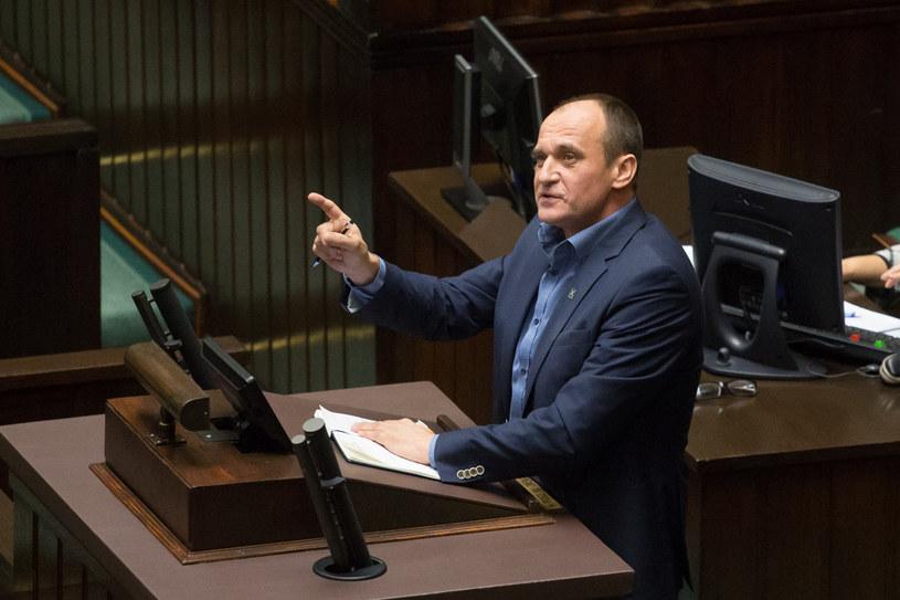 Paweł Kukiz w Sejmie /Mateusz Wlodarczyk /Agencja FORUM