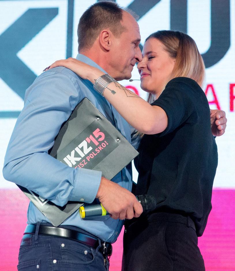 Paweł Kukiz z córką Julią /Andrzej Iwańczuk /Reporter