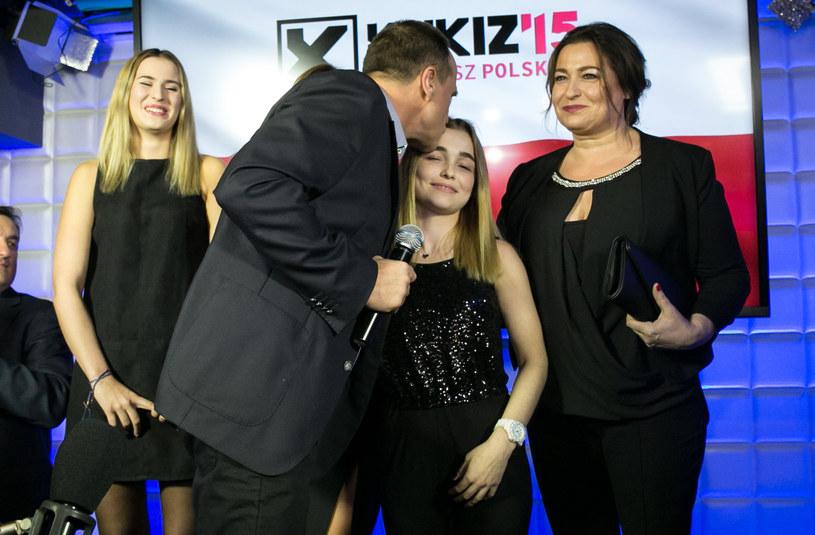 Paweł Kukiz z rodziną /Agencja FORUM