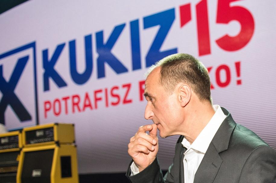 Paweł Kukiz /Maciej Kulczyński /PAP
