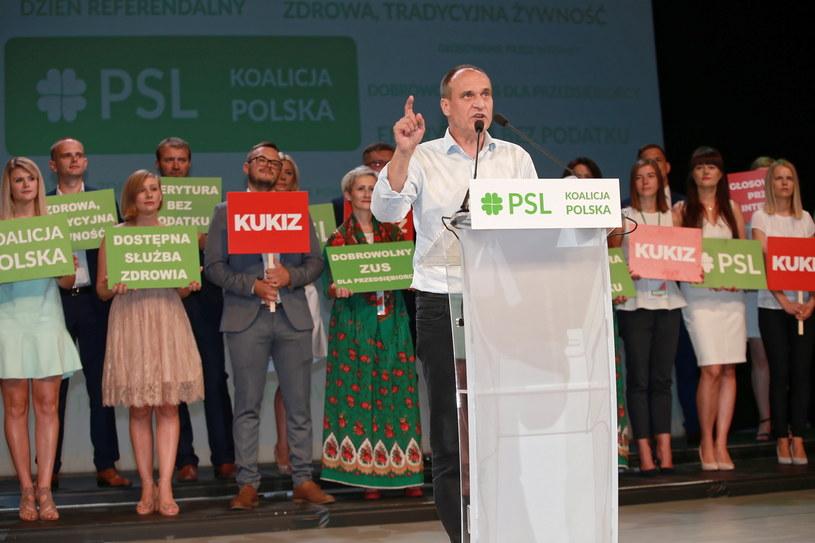 Paweł Kukiz /Piotr Augustyniak /PAP