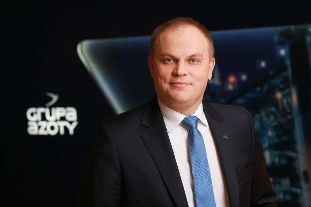 Paweł Łapiński, wiceprezes Grupy Azoty /Informacja prasowa