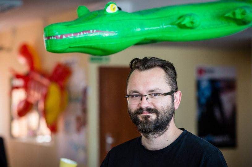 Paweł Miechowski, Partnerships Manager w 11 Bit Studios /AFP