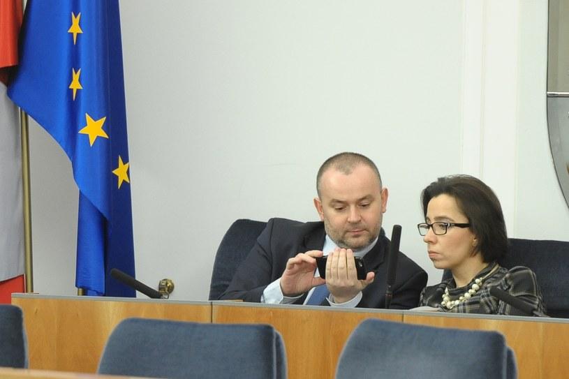 Paweł Mucha i Anna Surówka-Pasek /Rafał Oleksiewicz /Reporter