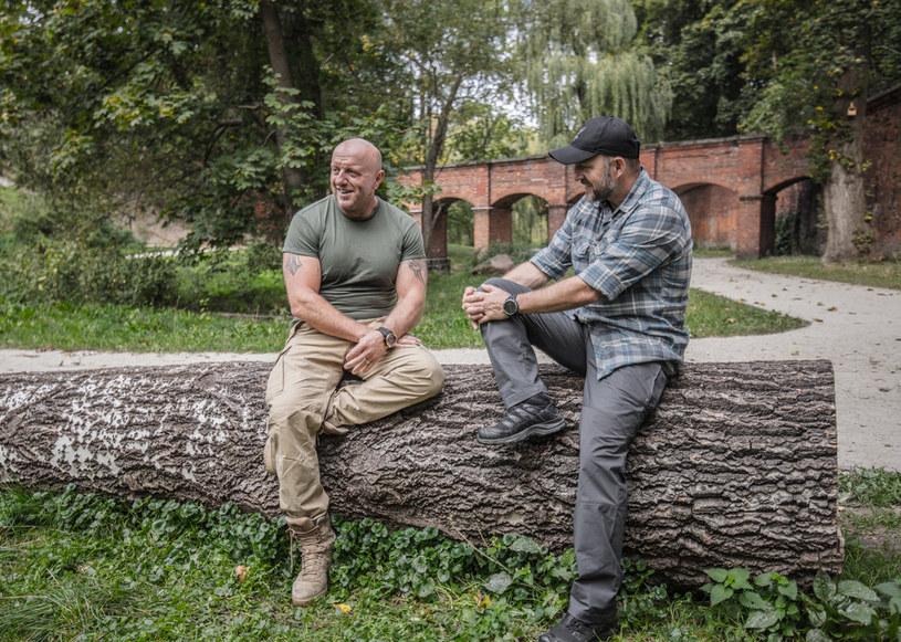"""Paweł """"Naval"""" Mateńczuk jest wielokrotnie odznaczonym za odwagę byłym operatorem  oddziału szturmowego jednostki specjalnej GROM /materiały prasowe"""