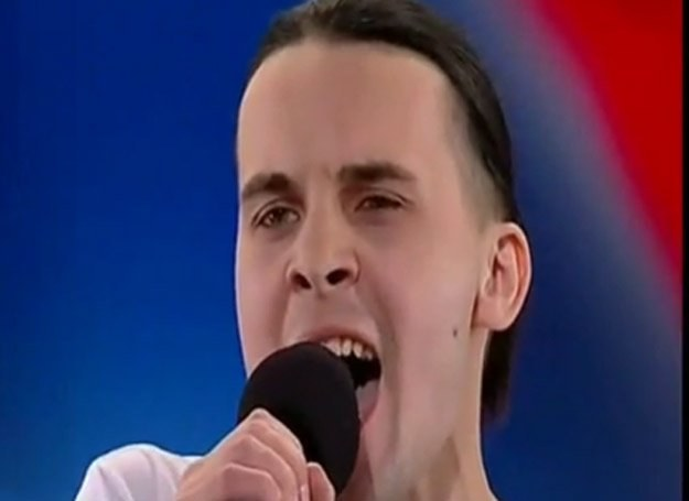 """Paweł Ostrovsky zrobił znakomite wrażenie w """"Mam talent"""" /""""Mam talent"""", TVN"""