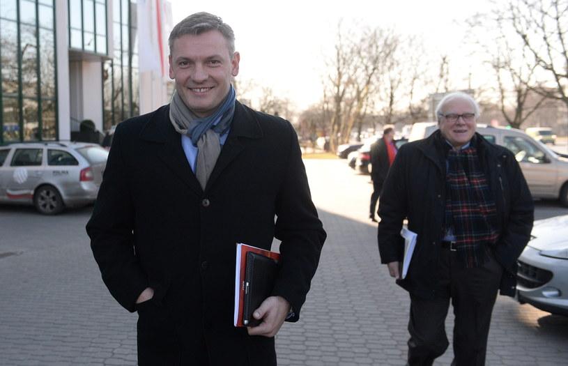 Paweł Papke został nowym prezesem PZPS /Fot. Bartłomiej Zborowski /PAP