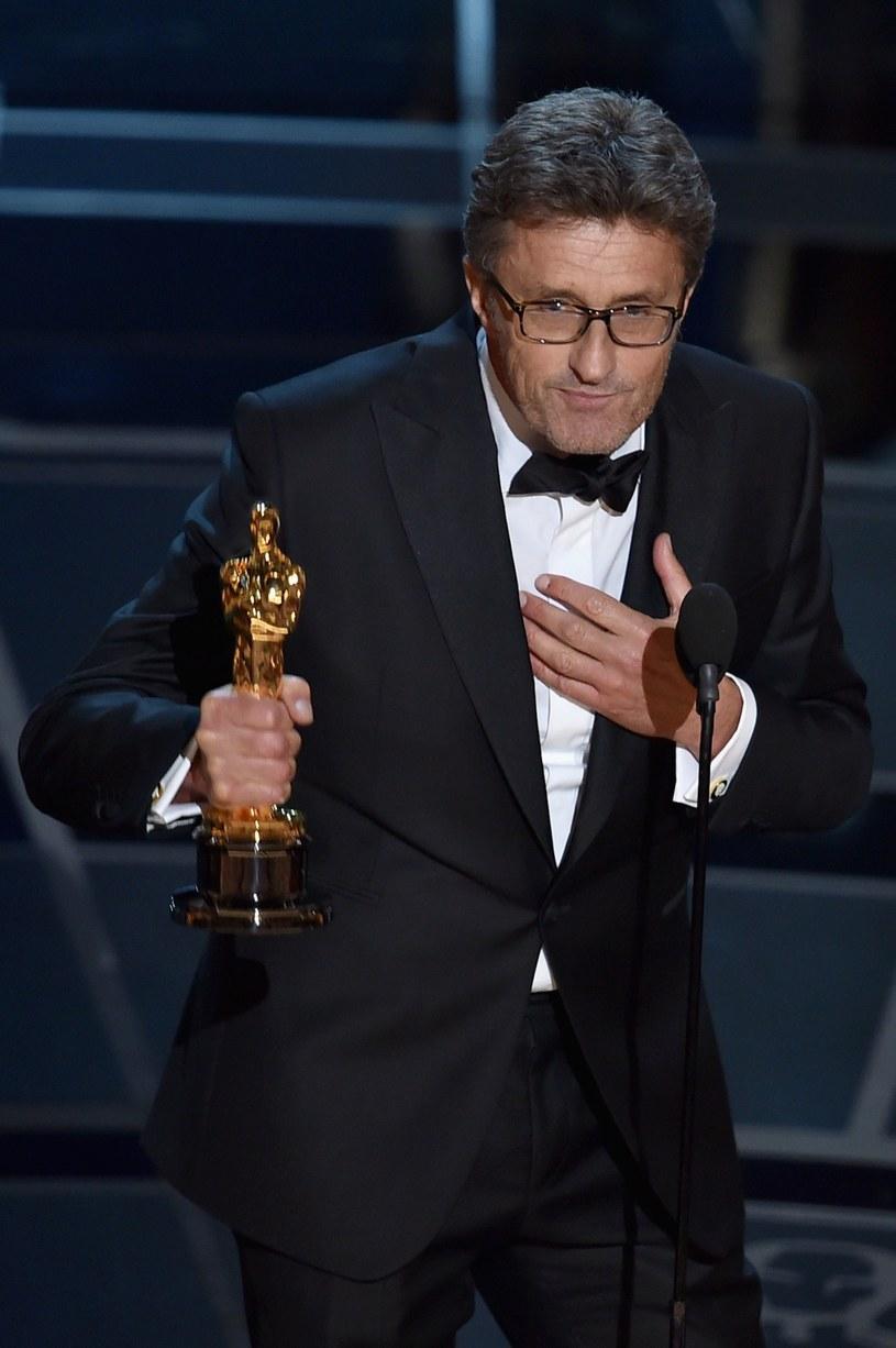 Paweł Pawlikowski odbiera Oscara /AFP
