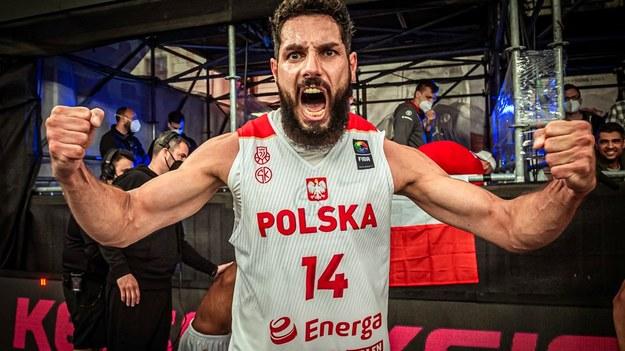 Paweł Pawłowski po zwycięstwie nie krył radości /FIBA 3x3 /