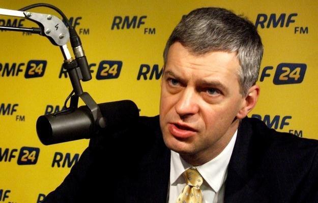 Paweł Poncyljusz w Kontrwywiadzie RMF FM /RMF