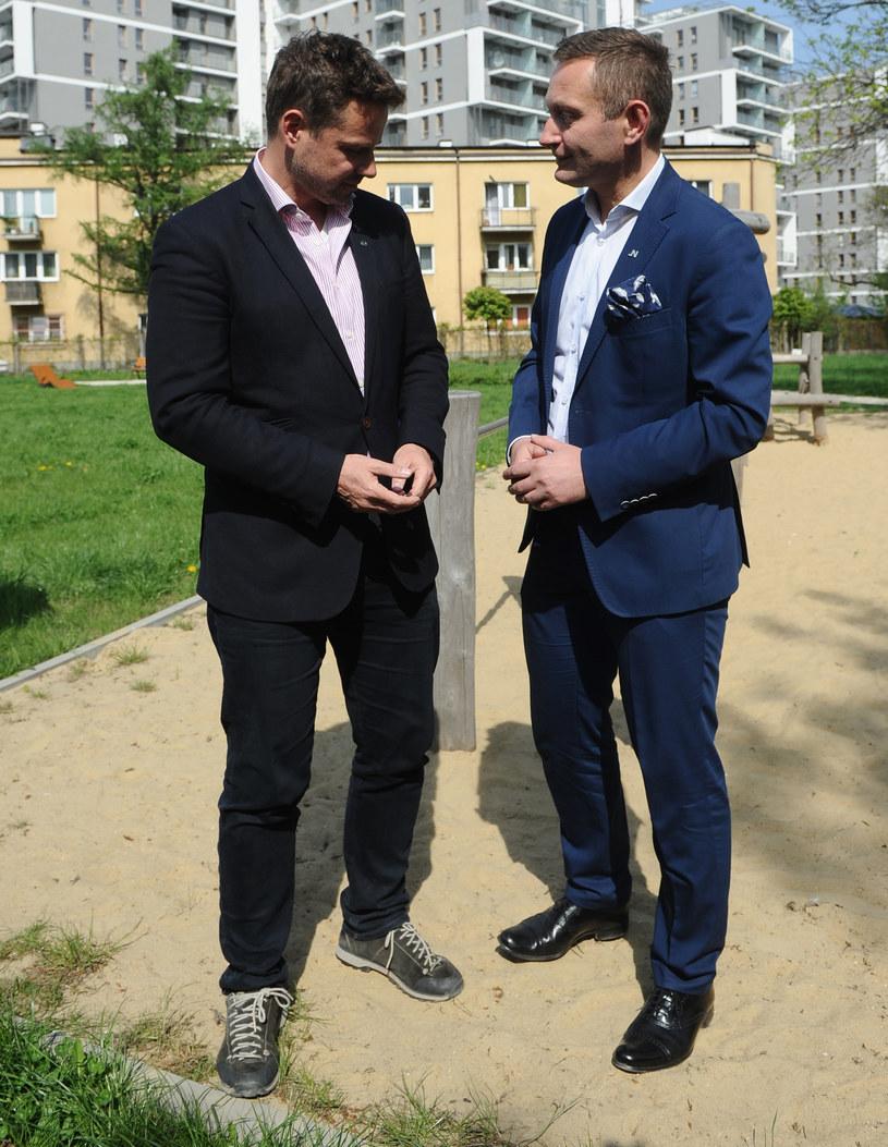 Paweł Rabiej jest zastępcą Rafała Trzaskowskiego, prezydenta Warszawy /Adam Chełstowski /Agencja FORUM