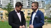 Paweł Rabiej z chłopakiem na balu dziennikarzy