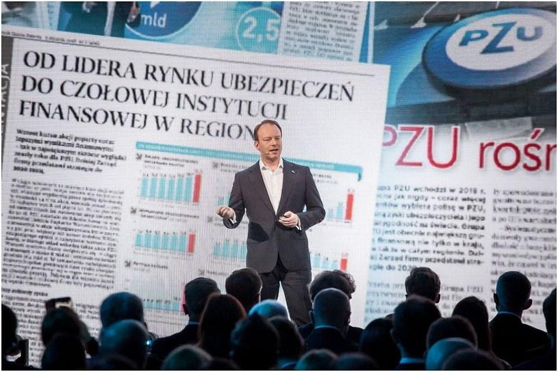 Paweł Surówka, prezes PZU /Ireneusz Rek /INTERIA.PL
