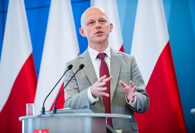 Paweł Szałamacha, minister finansów. Fot. Bartosz Krupa /Agencja SE/East News