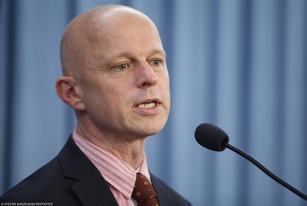 Pawel Szałamacha, minister fnansów. Fot. Stefan Maszewski /Reporter