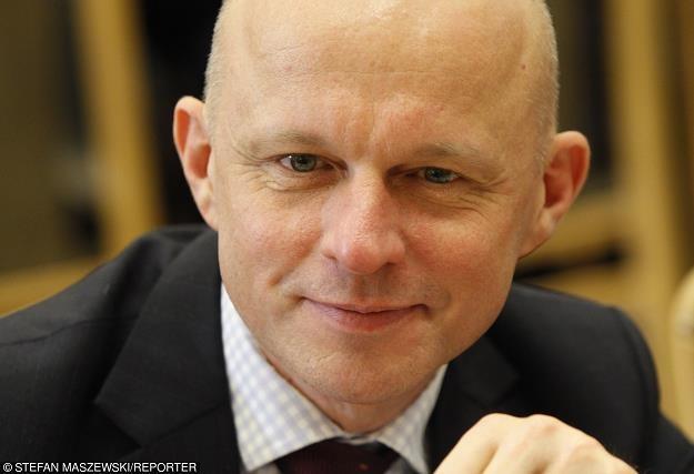Paweł Szałamacha - szef resortu finansów. Fot. Stefan Maszewski /Reporter