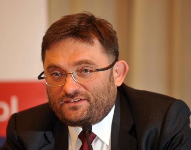 Paweł Tamborski z Ministerstwa Skarbu Państwa. Fot. Lech Gawuc /Reporter