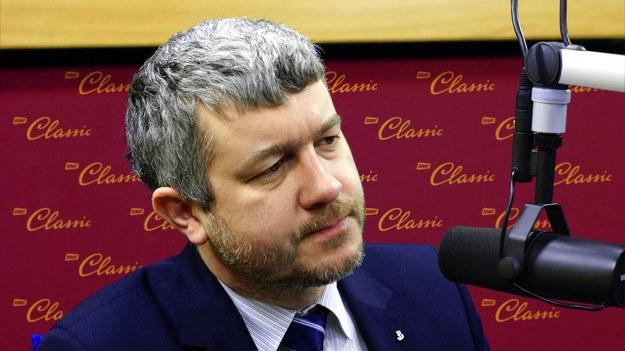Paweł Ukielski, wiceprezes IPN /Michał Dukaczewski /RMF FM