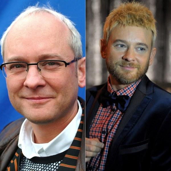 Paweł w dwóch wersjach - po lewej w 2004 roku (fot.Krzysztof Wierzbowski), po prawej obecnie  /Agencja FORUM