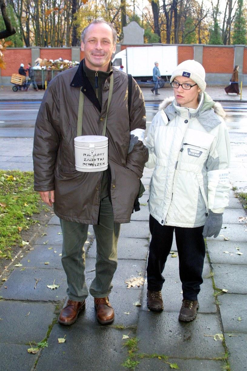 Paweł Wawrzecki z córką Anną /Studio69 /Agencja FORUM